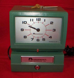 best things to see on eBay for profit - time clock