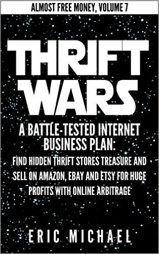 thrift wars selling on ebay amazon book