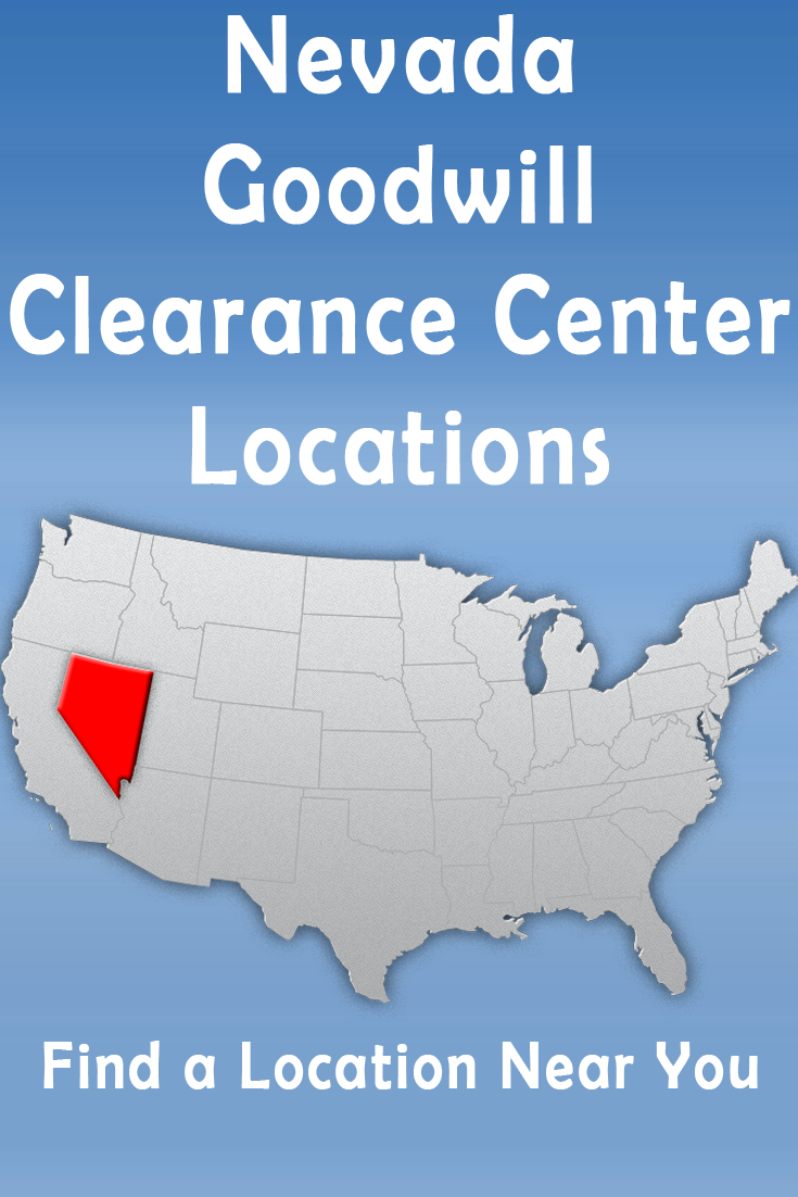 Nevada Goodwill Outlet Stores Clearance Centers